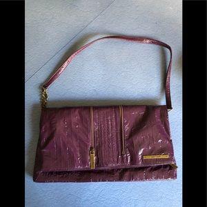 Matt & Nat purple foldover shoulder bag